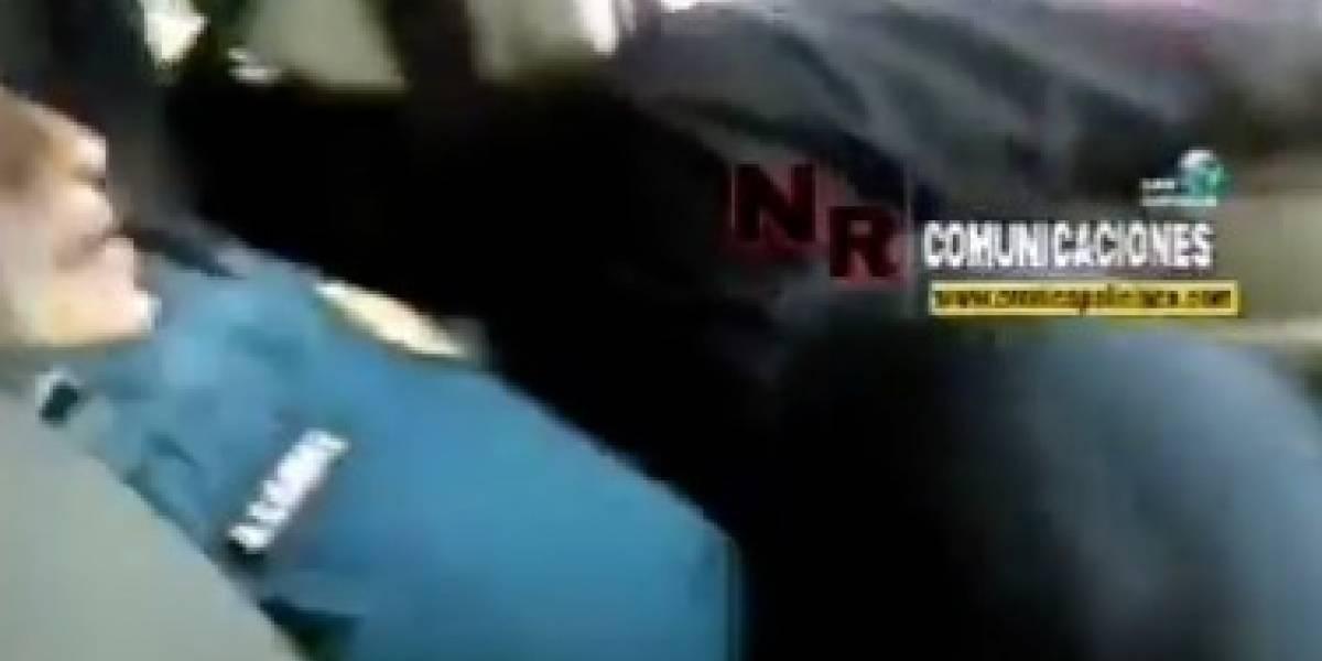 (video) Policía se vuelve viral por su particular forma de manejar una patrulla