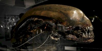 Esto es lo que verás en la exposición de Giger, el genio detrás de Alien