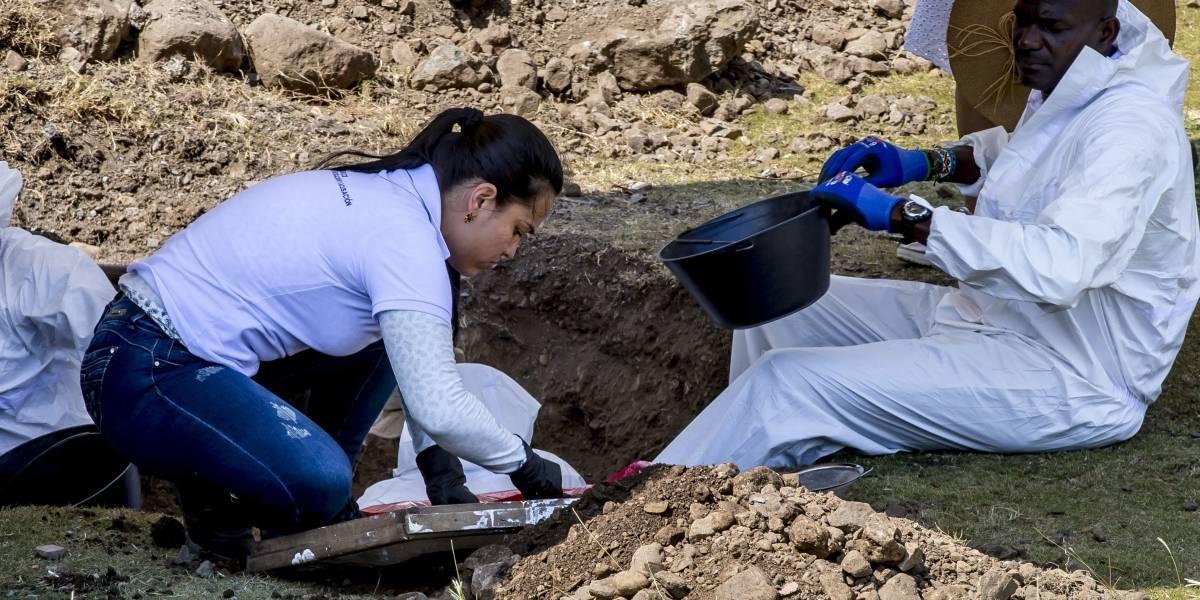 Hallan 3 cuerpos más de posibles víctimas de falsos positivos