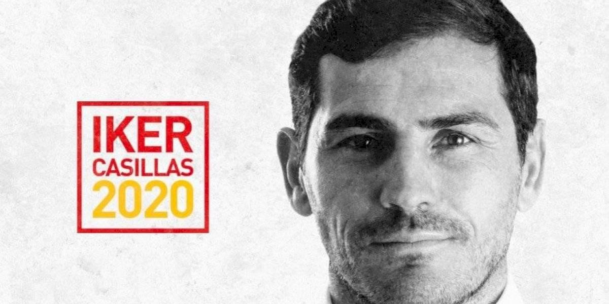 Iker Casillas busca presidencia de la Federación Española de Futbol