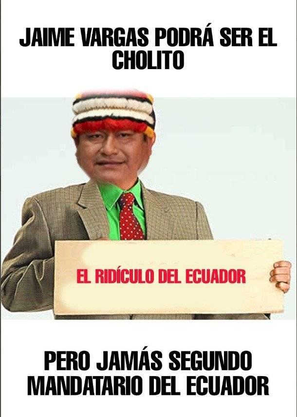 Memes a declaraciones Jaime Vargas
