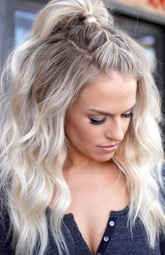 Formas de moda también peinados sueltos Fotos de los cortes de pelo de las tendencias - Peinados con pelo suelto para las chicas que no tienen ...