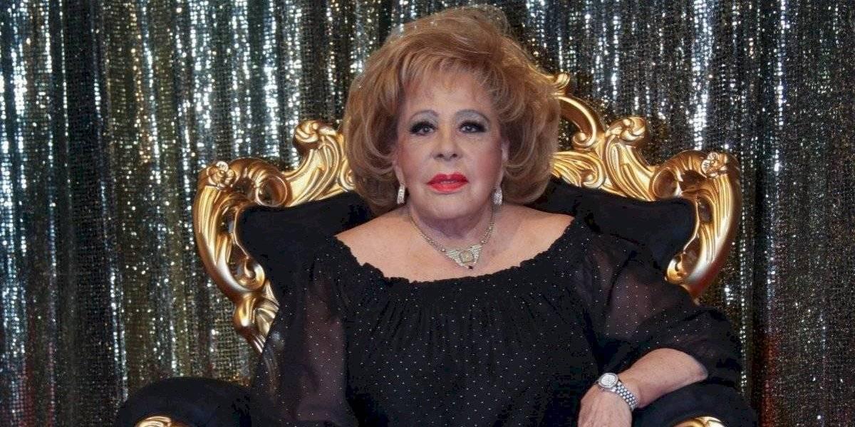 Silvia Pinal está internada en un hospital