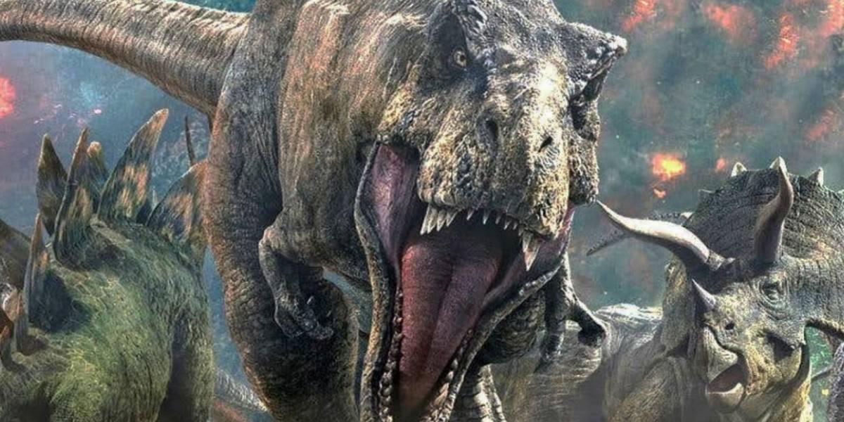 Jurassic World 3: Muestran animatrónico de bebé dinosaurio
