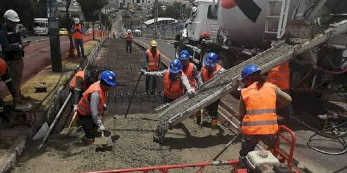 Quito: vías cerradas por trabajos de repavimentación
