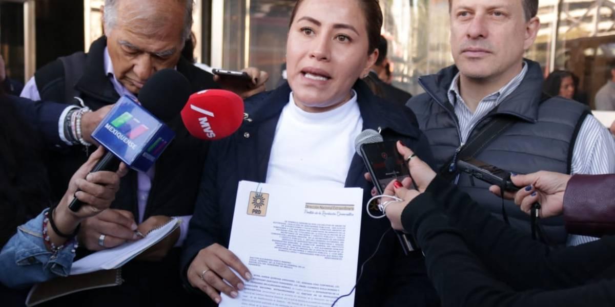 PRD denuncia a funcionarios de la SHCP por desabasto de medicamentos