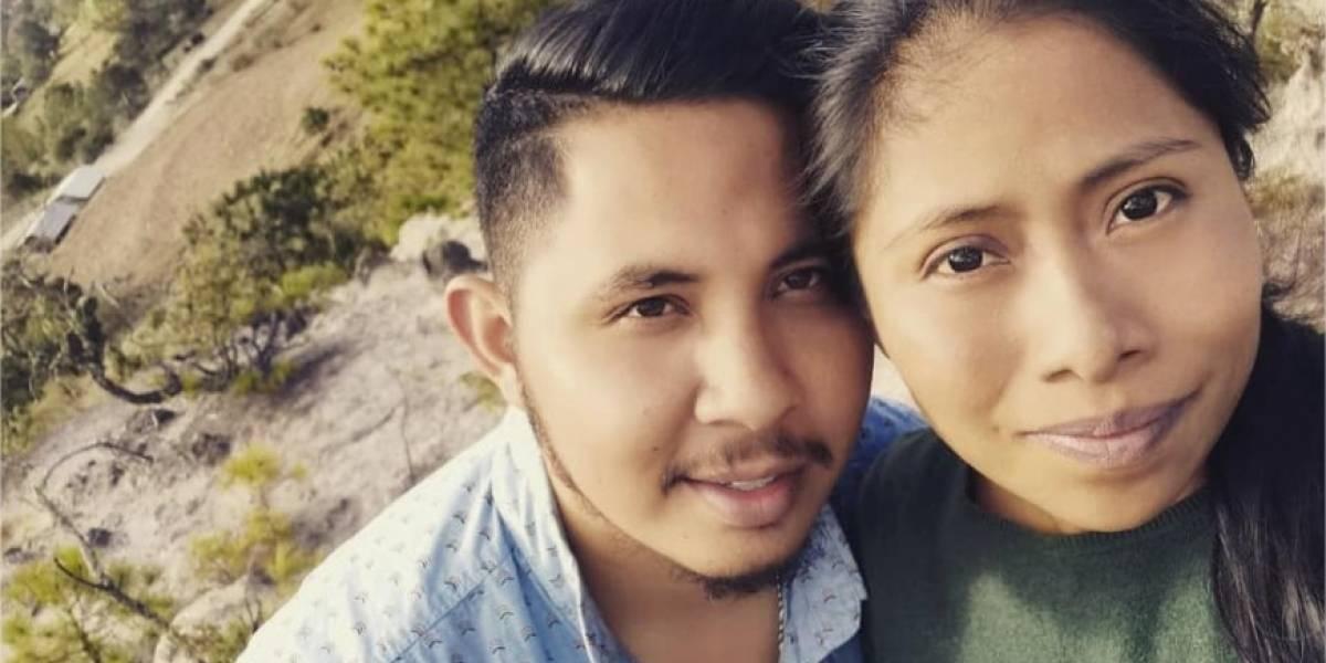 Novio de Yalitza Aparicio publicó romántica foto junto a ella el Día de San Valentín