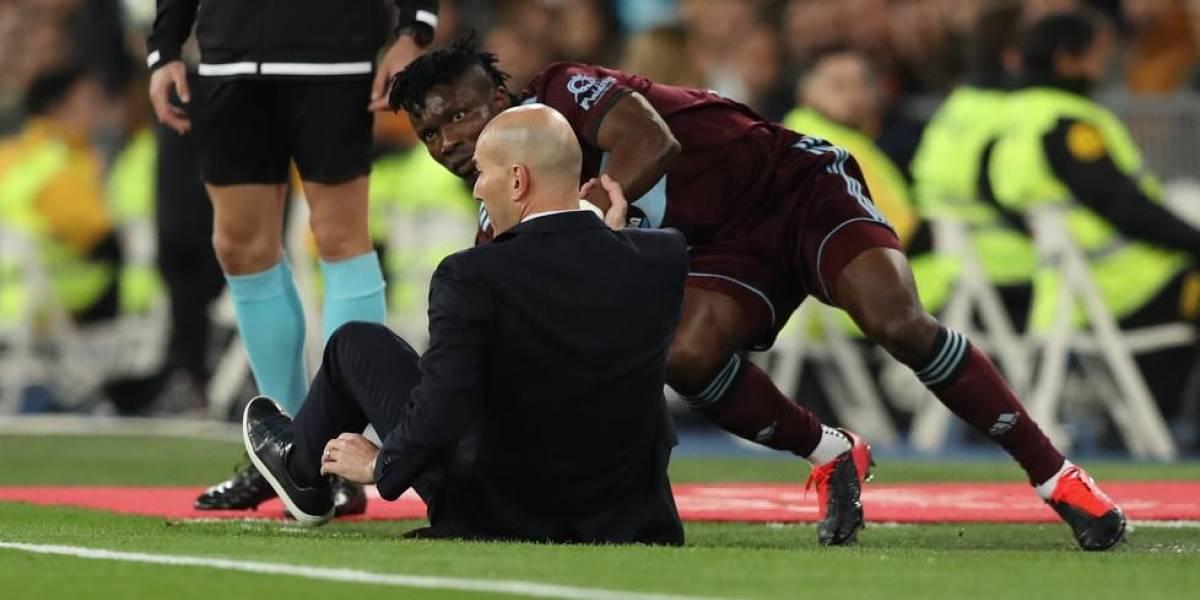 Real Madrid contra Celta de Vigo, la imagen más dolorosa para Zidane