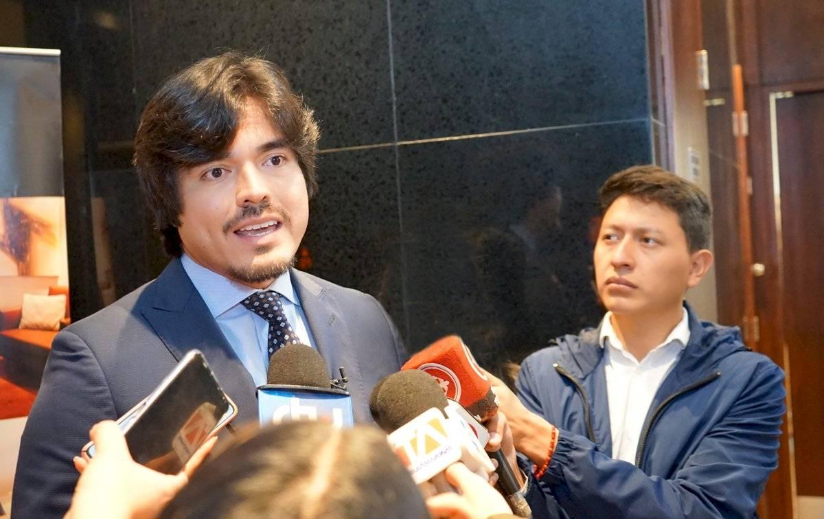 Secretario Nacional Anticorrupción, José de la Gasca