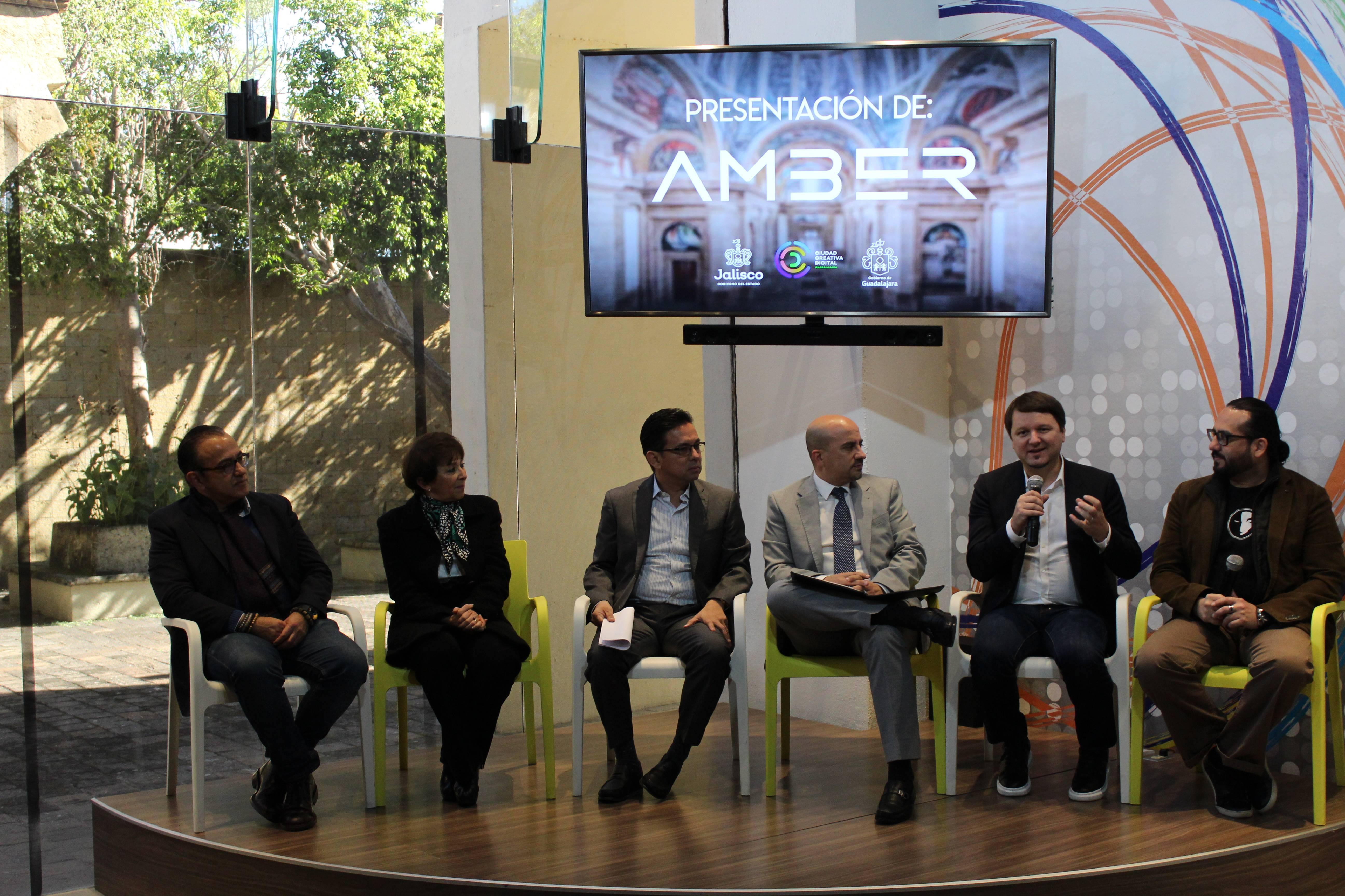 México Videojuegos Amber