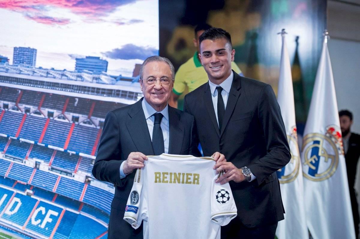 Reinier es presentado como nuevo jugador del Real Madrid