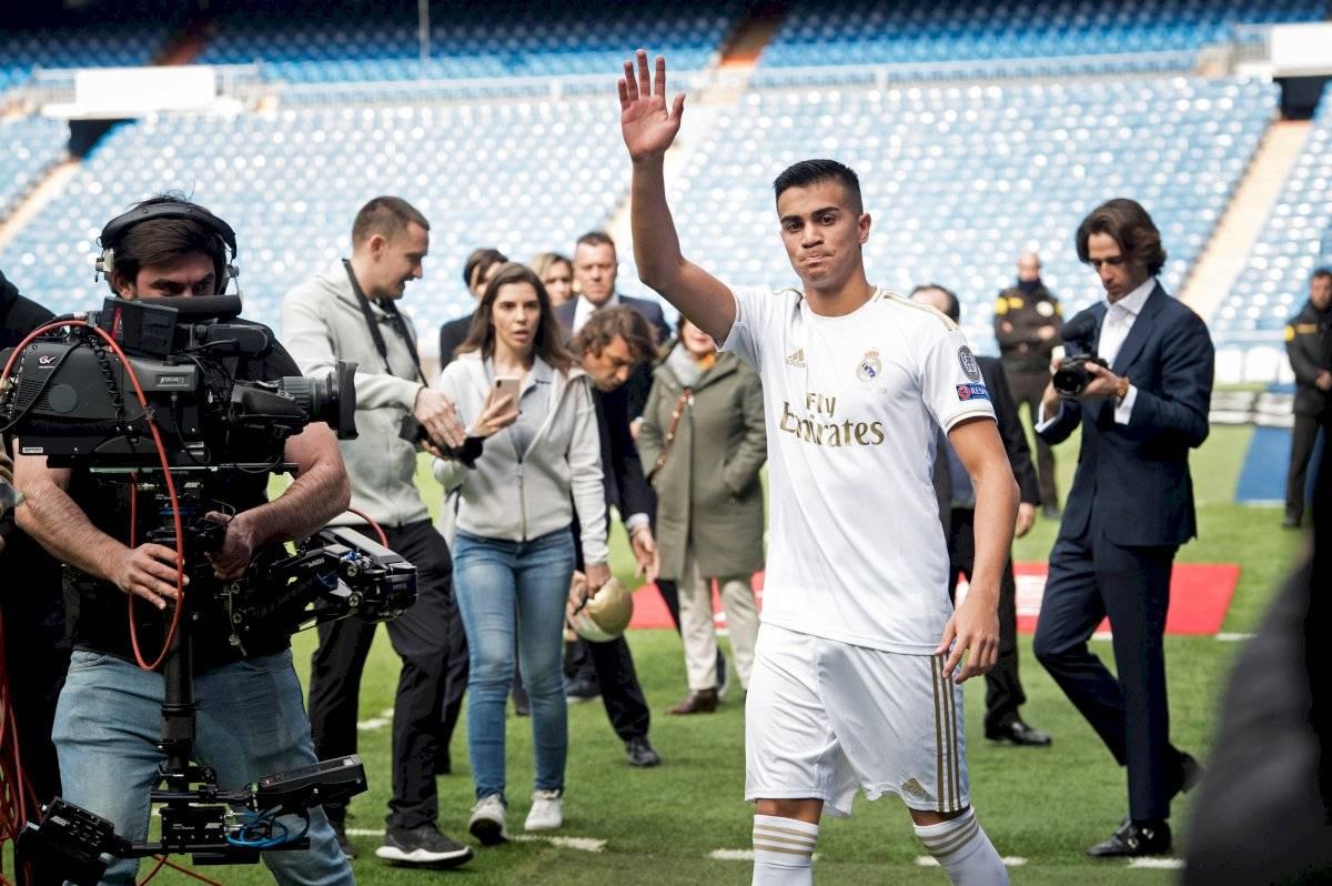 Reinier llega a Madrid