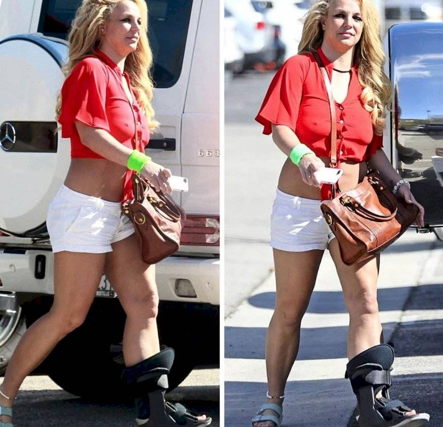 Captura de pantalla de Britney Spears