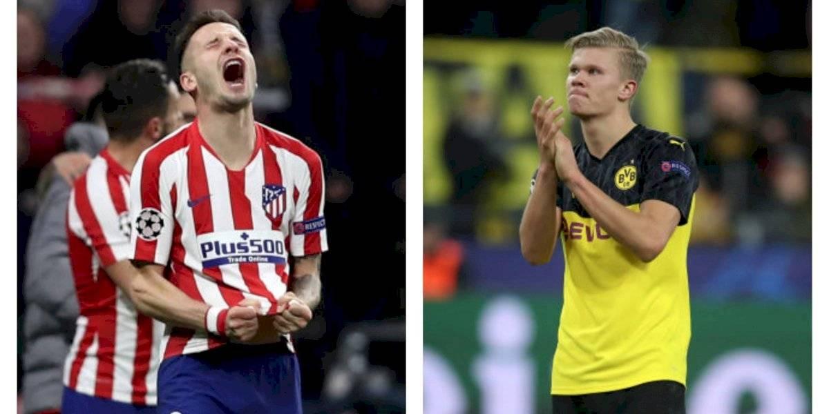 El Atlético Madrid deja en jaque al Liverpool en la Champions y Haland sigue haciendo de las suyas con el Dortmund