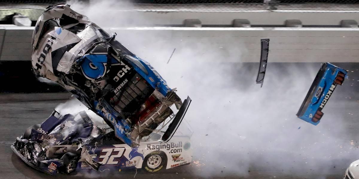 El espectacular choque que marcó las 500 Millas de Daytona