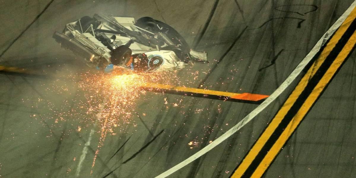 Ryan Newman se encuentra consciente tras accidente en Daytona
