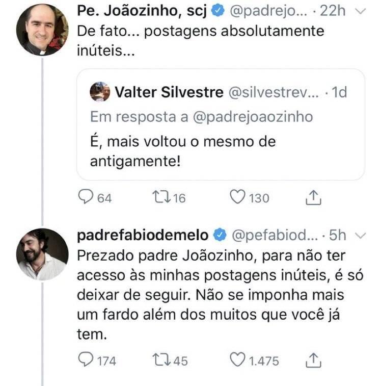 padre Joãozinho e padre Fabio de Melo