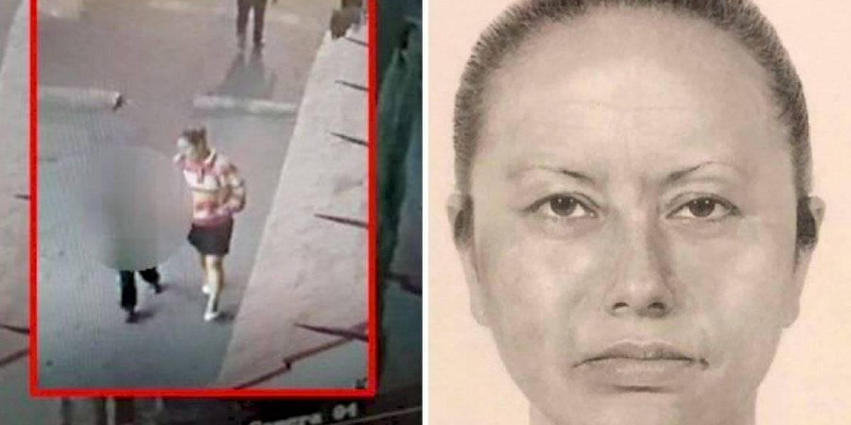 Difunden el retrato de la mujer que se llevó a niña de siete años asesinada en México