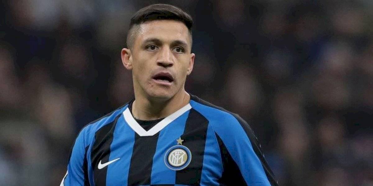 En Italia aseguran que las rotaciones en el Inter de Milan le abrirán un puesto como titular a Alexis Sánchez
