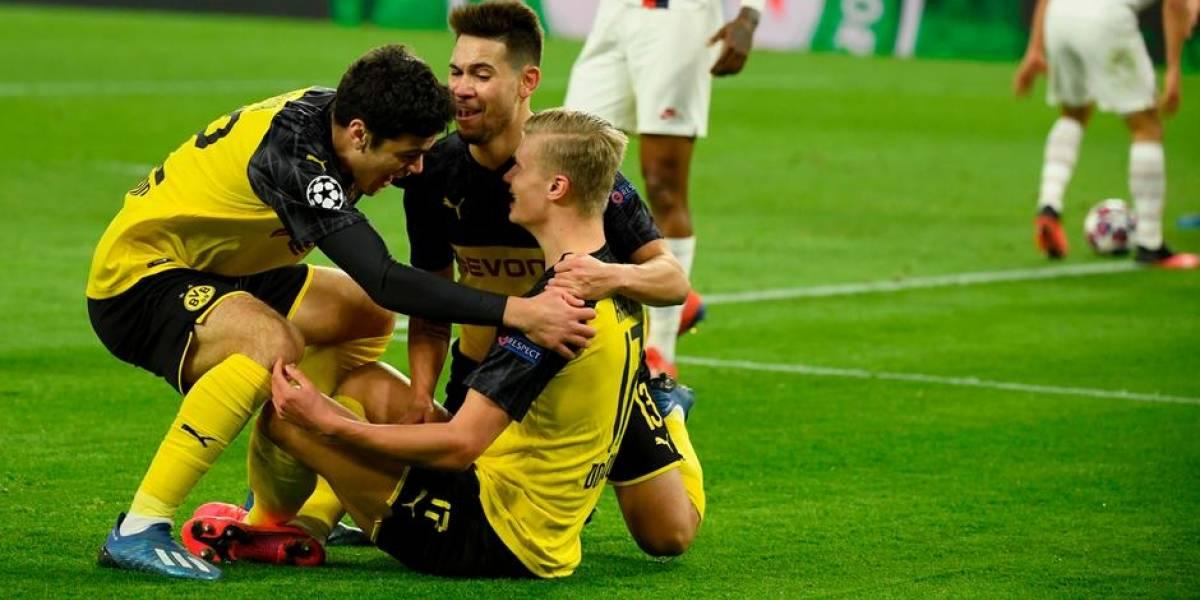 Champions League: La curiosa celebración zen de Erling Haaland