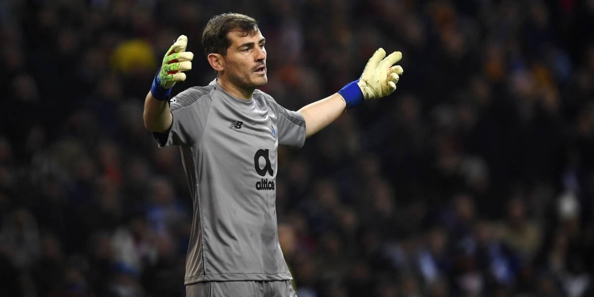 Iker Casillas anunció su retiro para ir por la presidencia de la Federación Española