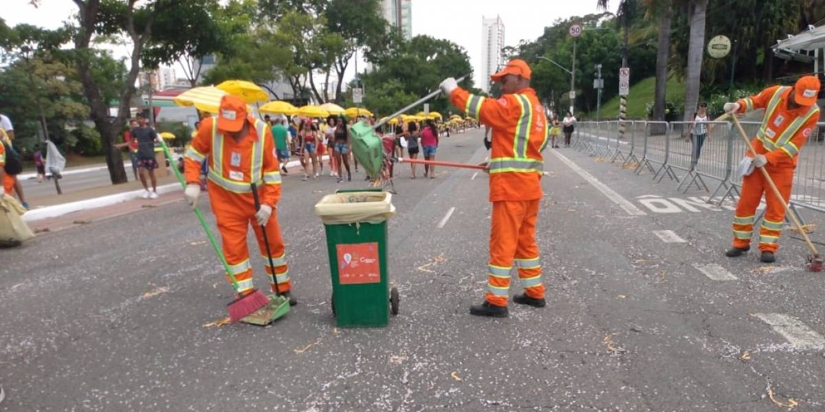 Prefeitura coleta mais de 560 toneladas de resíduos no Carnaval de SP