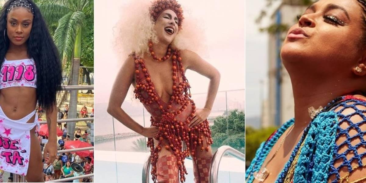 Os looks usados pelas famosas para curtir o pré-carnaval