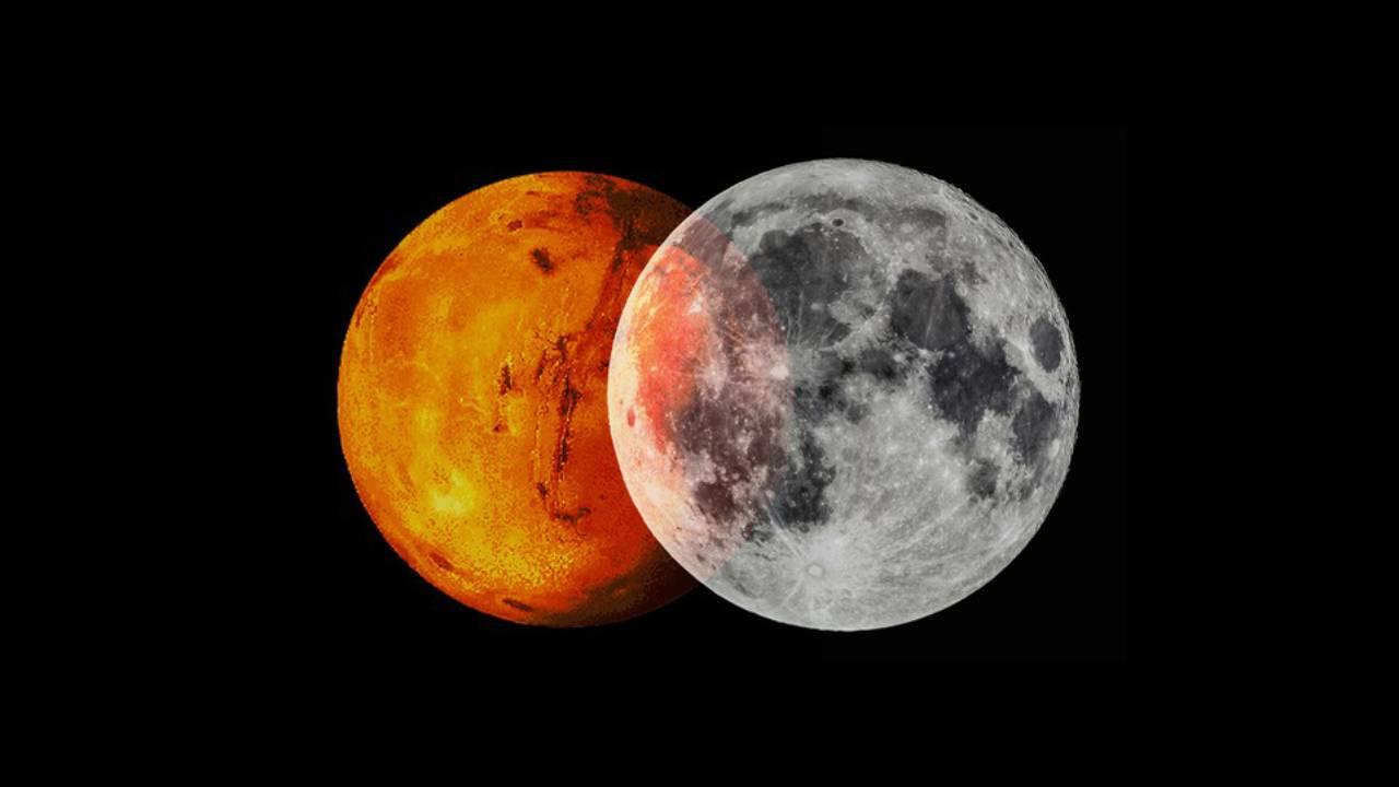 Espacio Luna Marte