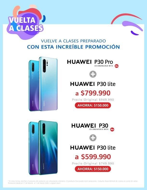 """Huawei lanza promoción """"vuelta a clases""""con diversas ofertas en sus principales productos"""