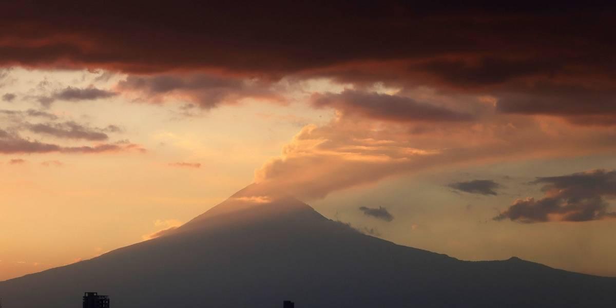 Cenapred alerta a población sobre actividad del Popocatépetl