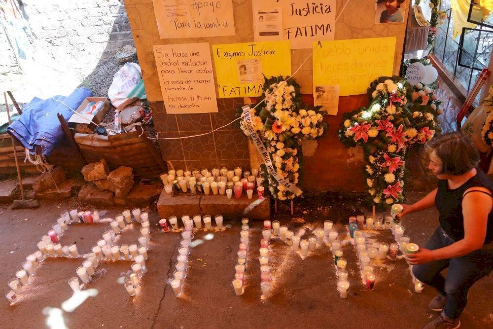 Misa en memoria de Fátima