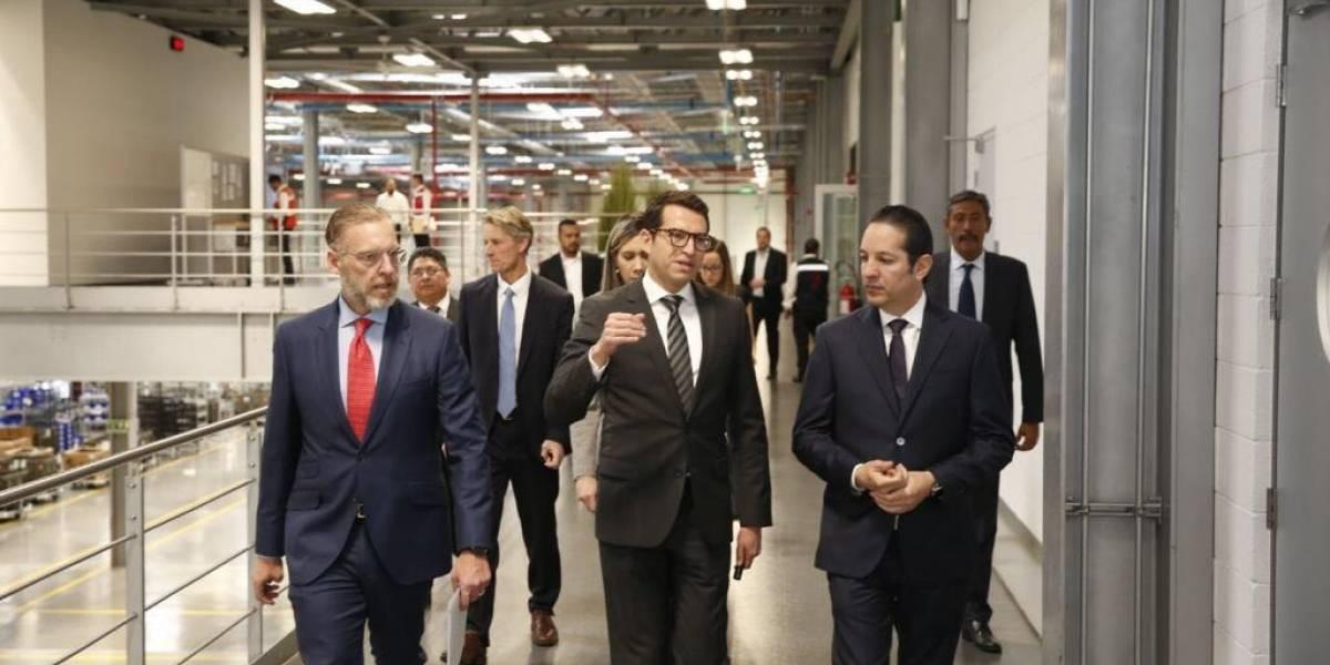 Brose y Querétaro fijan el empleo bien pagado como motor de productividad: Gobernador