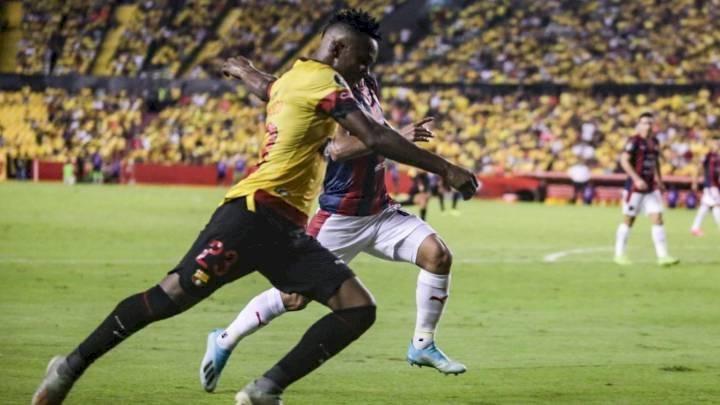 Barcelona SC vs Cerro Porteño: Fidel Martínez lleva al