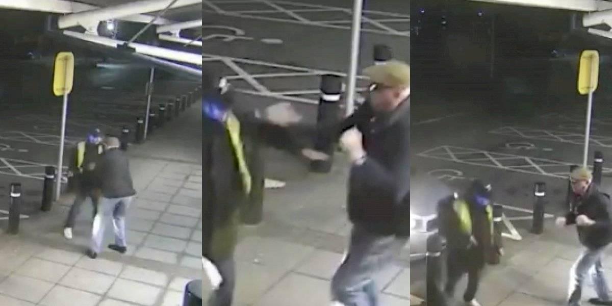 ¡Héroe sin capa! Anciano se enfrentó a puño limpio a un delincuente