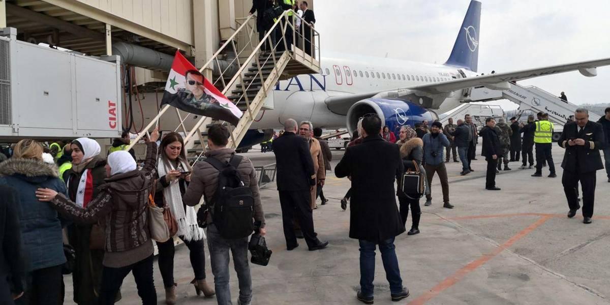 Siria reabre el aeropuerto de Alepo tras más de 7 años