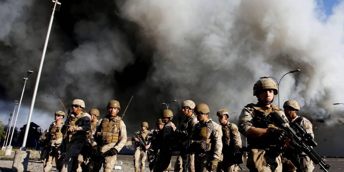 35 fusiles no letales y otros equipos: la Armada licita compra por $211 millones en armas antidisturbios