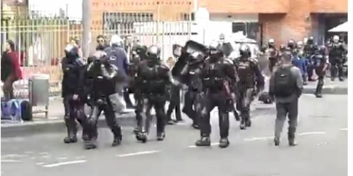 Esmad habría causado graves lesiones a periodista que cubría marchas en Bogotá