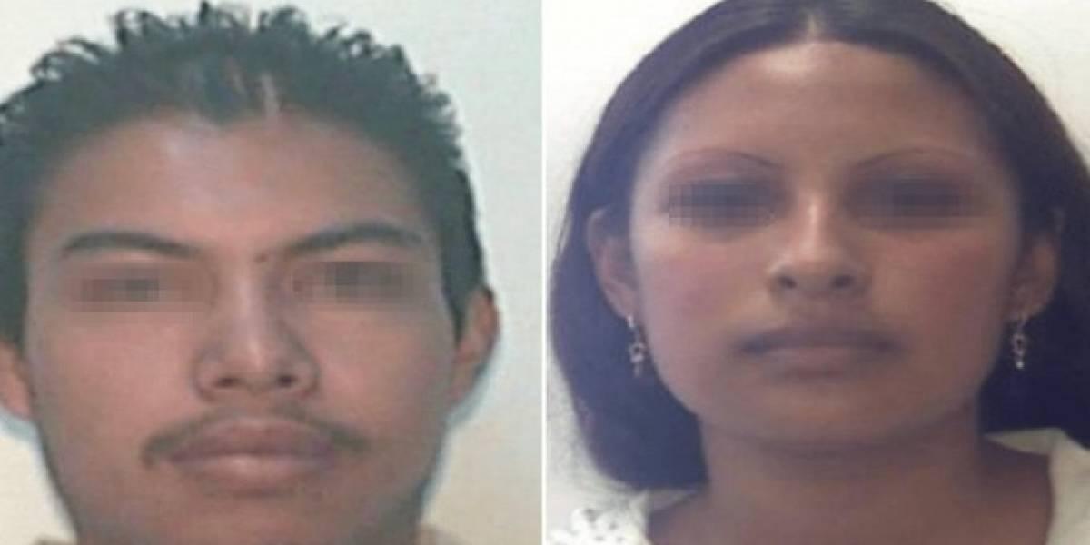 Mario Alberto 'N' y Gladis Giovana 'N'; sospechosos en el caso Fátima