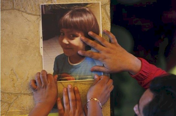 Fátima, niña de siete años, fue secuestrada al salir de su escuela (México) AP