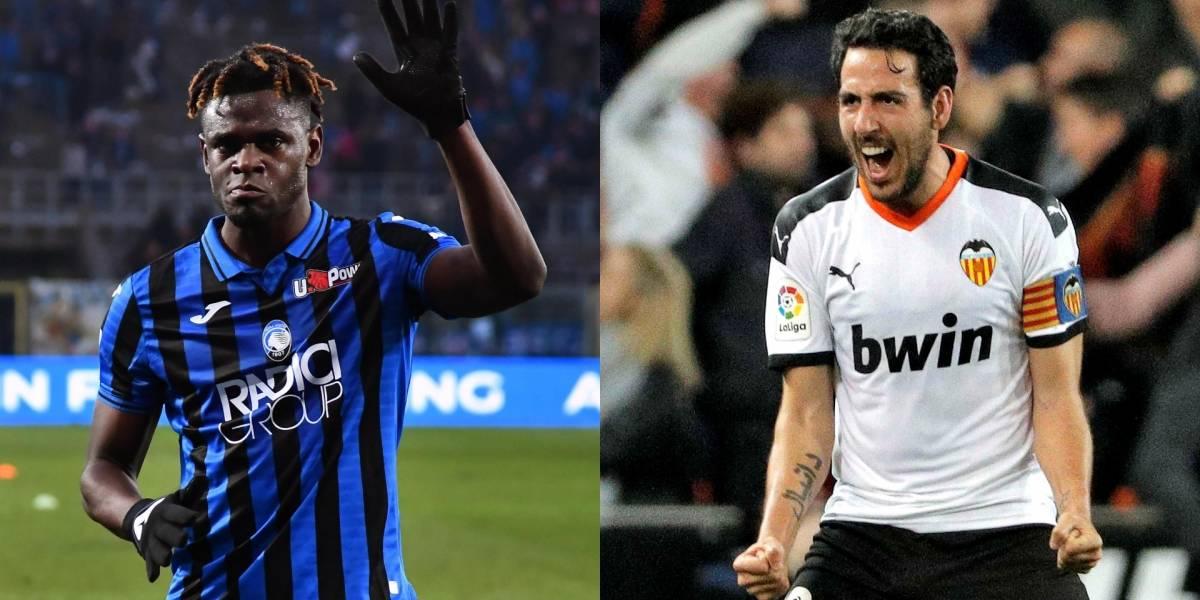 ¡A nivel europeo también pueden! Las dos grandes figuras y los mejores datos del Atalanta vs. Valencia