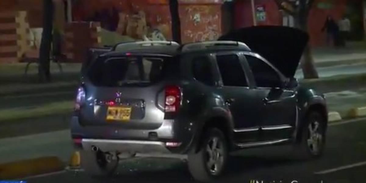 Supuesto carro bomba generó pánico esta madrugada en Bogotá