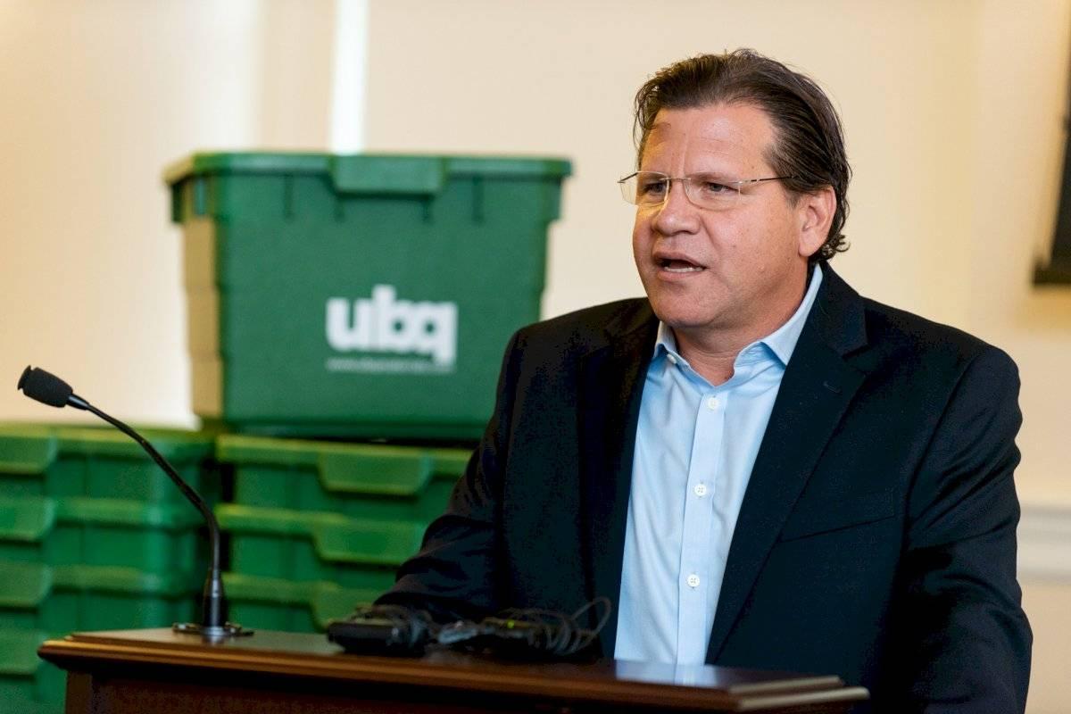 Jack Bigio, fundador de UBQ Material