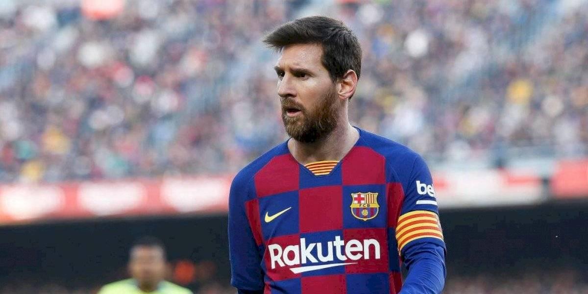 Messi ve rara la polémica del Barcelona y las redes sociales