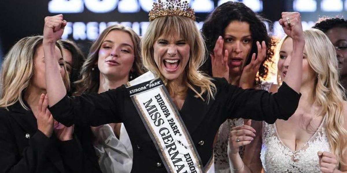La nueva Miss Alemania rompió todos los esquemas