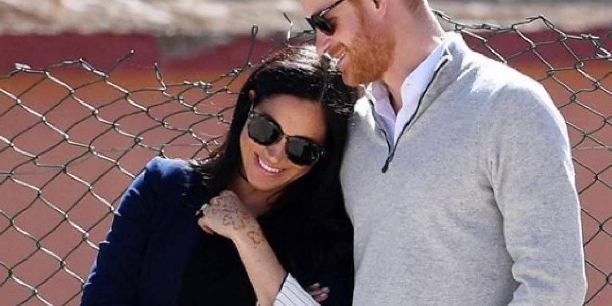 Harry e Meghan participam de último compromisso com a rainha