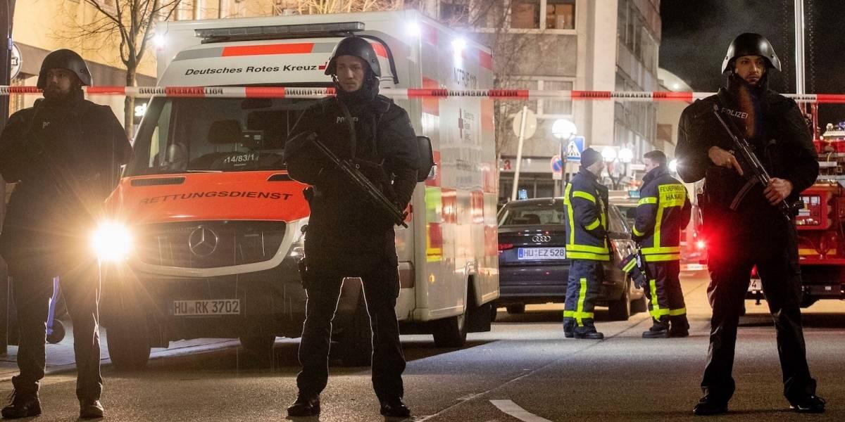 Disturbios en ciudad alemana dejan 20 detenidos y cuatro heridos