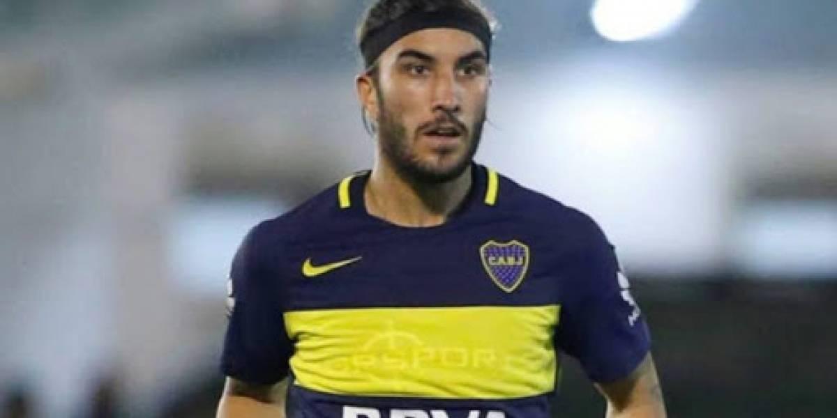 Sebastián Pérez ya está de regresó en Boca Juniors