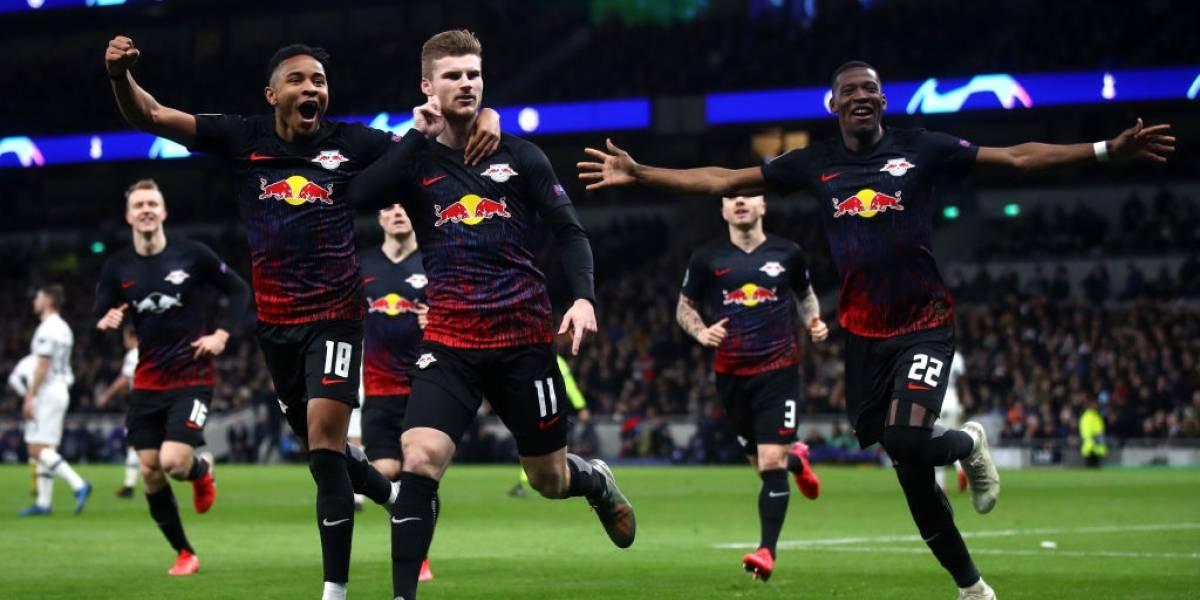 ¡Triunfazo en Londres! Leipzig le ganó a un confundido Tottenham (0-1)