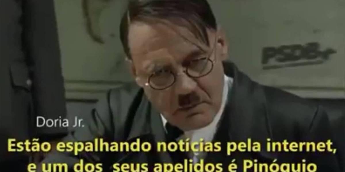 Tribunal absolve vereador que comparou Doria a Hitler em 'sátira' nas redes