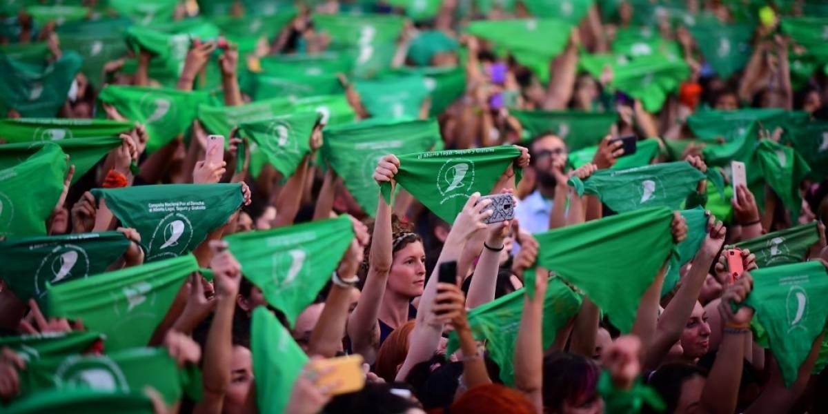 """""""El año de la legalización del aborto"""": miles de argentinas se manifestaron frente al Congreso"""